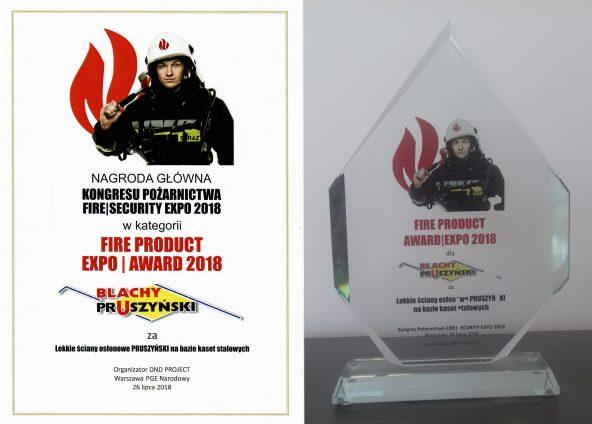 Blachy-Pruszyński-Fire-Product-Expo-Award-2019
