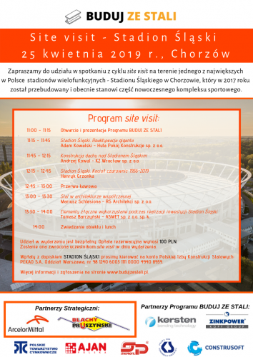 Stadion Śląski Site Visit 25 Kwietnia 2019